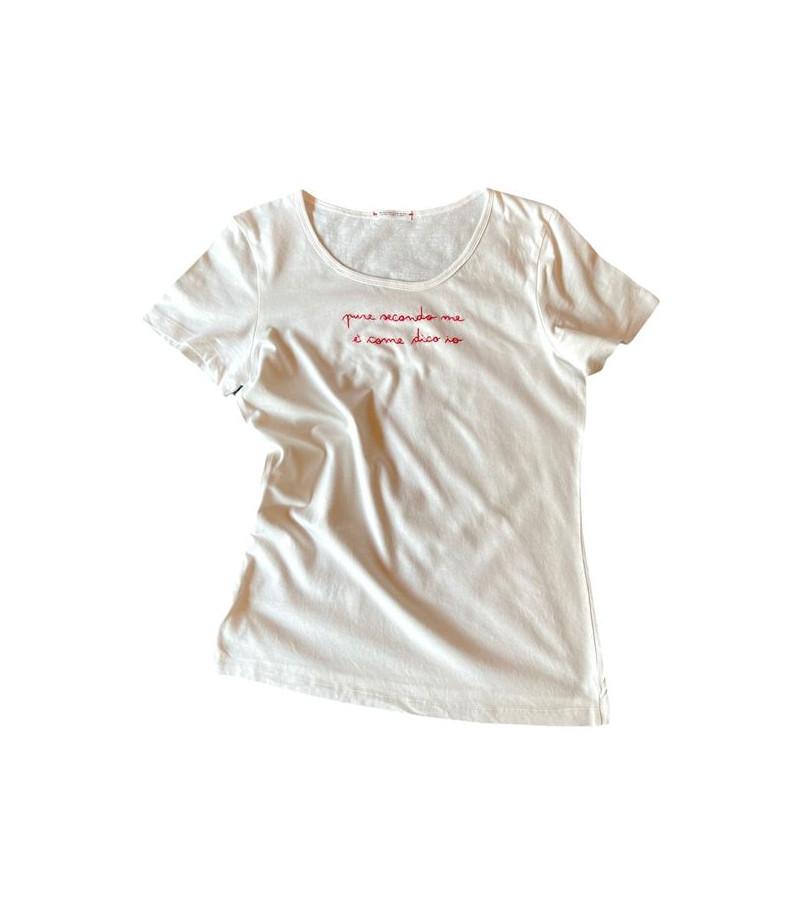 "t-shirt ""pure secondo me è..."