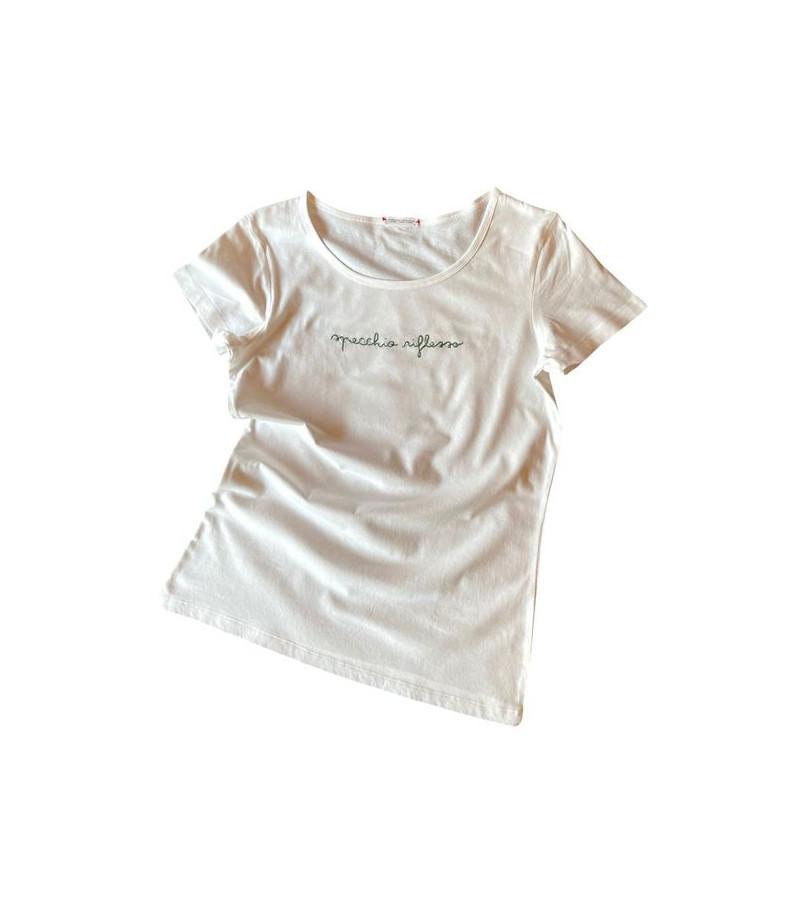 """t-shirt """"specchio riflesso"""""""