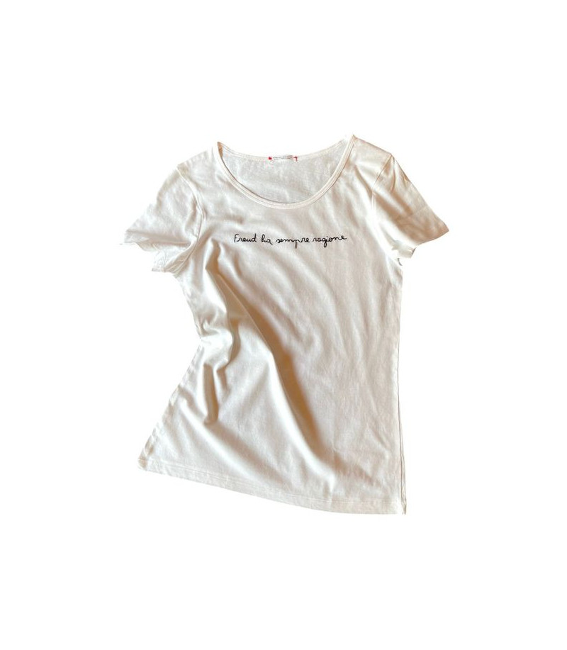 """t-shirt """"Freud ha sempre..."""